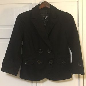 American Eagle Outfitters Black Blazer Jacket, EUC